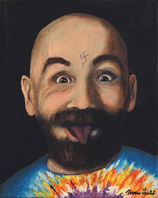 Manson Painting - Charley Manson by Norman Twisted