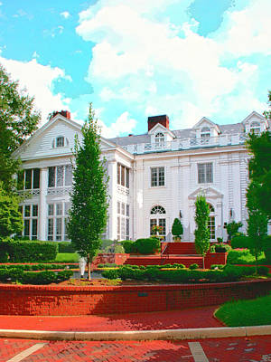 Charlotte Estate Charlotte Nc Print by William Dey