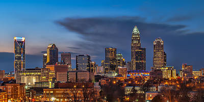Charlotte Photograph - Charlotte North Carolina by Brian Young
