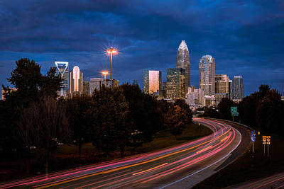 Charlotte Photograph - Charlotte Rush Hour 2 by Serge Skiba