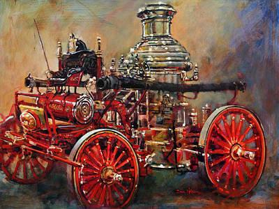 Charlotte Steamer Original by Dan Nelson