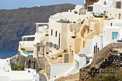 Vacances Photograph - Charming Hotels In Santorini by Aiolos Greek Collections