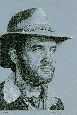 Elvis Presley Drawing - Charro by Rob De Vries