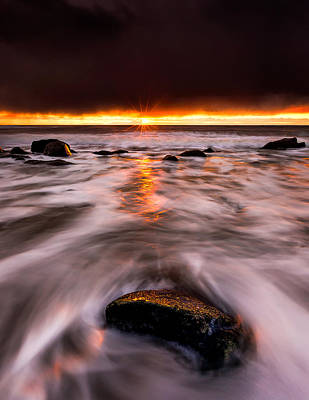 Canada Photograph - Chasing The Sunset by Alexis Birkill