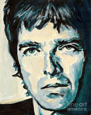 Noel Gallagher Print by Tanya Filichkin