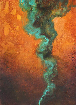 Sphere Painting - Chasm by Ellen Starr