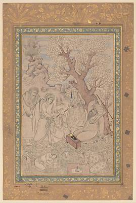 Arabesque Painting - Chastisement Of A Pupil by Celestial Images