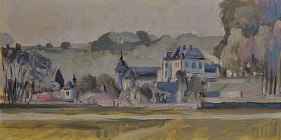 Chateau Neercanne Near Maastricht Original by Nop Briex