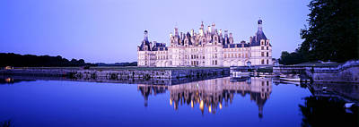 Gable Photograph - Chateau Royal De Chambord, Loire by Panoramic Images