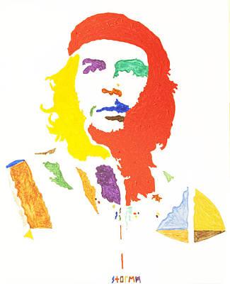 Che Guevara Print by Stormm Bradshaw