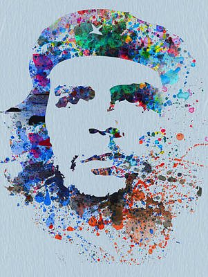 Revolution Mixed Media - Che by Naxart Studio