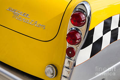 Checker Cab Photograph - Checker Marathon by Dennis Hedberg