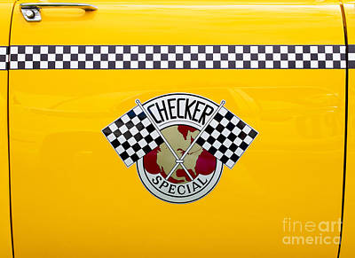 Checker Cab Photograph - Checker Special by Tim Gainey