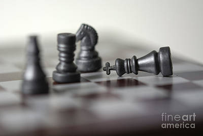 Checkmate Print by Andrea Incerti