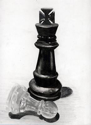 Checkmate Print by Ilshad Luckhoo