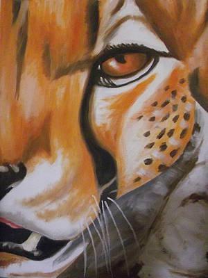 Cheetah Up Close Print by Scott Dokey