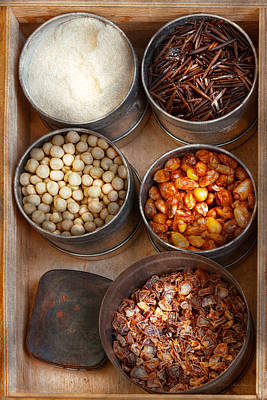 Chef - Food - Health Food Print by Mike Savad