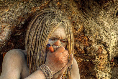 India Babas Photograph - Chellum by Rohit Chawla