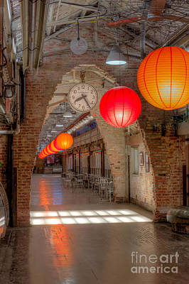 Paper Lantern Photograph - Chelsea Market I by Clarence Holmes