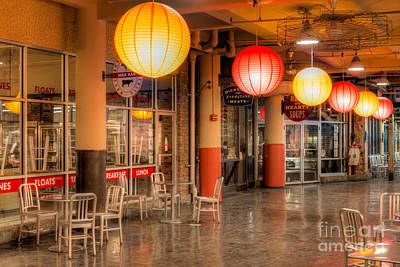 Paper Lantern Photograph - Chelsea Market Iv by Clarence Holmes