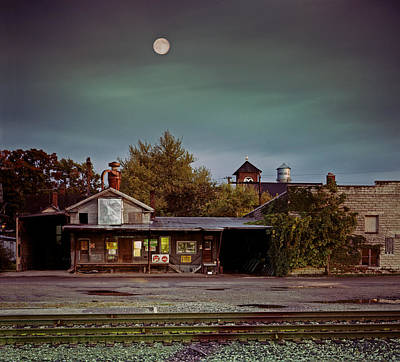 Chelsea Moon Print by James Rasmusson
