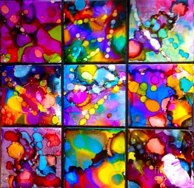 Ceramic Mixed Media - Chemical Reaction by Alene Sirott-Cope