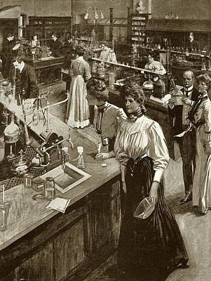Chemical Research Laboratory Print by National Library Of Medicine