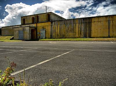 Abandoned Air Plane Photograph - Chemical Weapons Facility by Lucy Antony