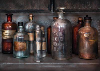 Chemist - Things That Burn Print by Mike Savad