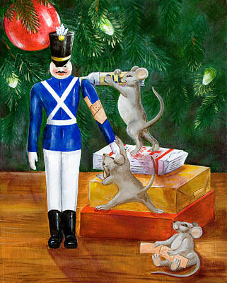 Toy Soldiers Painting - Cherished Things by Dorothy Riley
