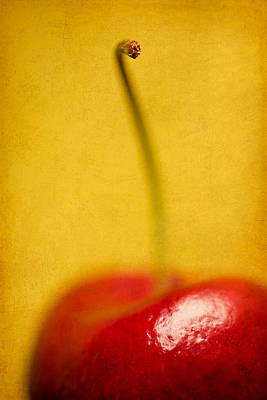 Red Fruit Photograph - Cherry Bliss by Amy Weiss