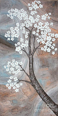 Cherry Blossom Print by Home Art