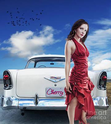 Cherry Print by Walking Tall