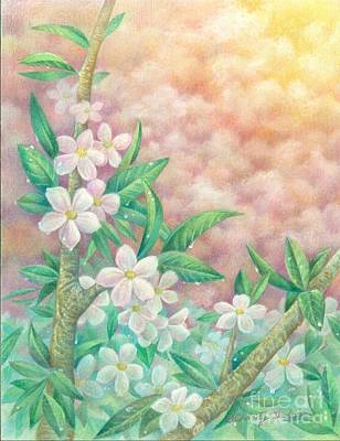 Cherryblossoms Print by Charity Goodwin
