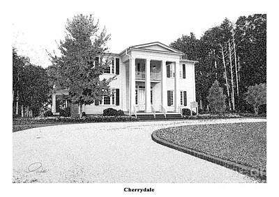Cherry Dale -  Architectural Rendering Print by A Wells Artworks