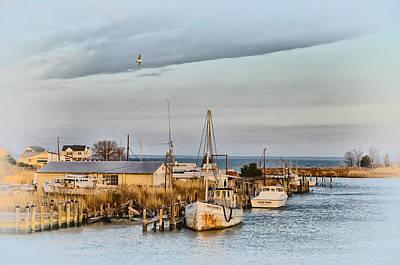 Md Digital Art - Chesapeake Fishing Boats by Bill Cannon