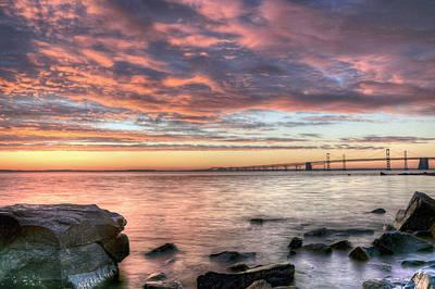 Bay Bridge Photograph - Chesapeake Splendor  by JC Findley