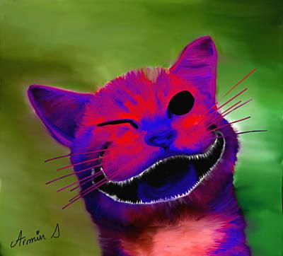 Cheshire Kitten  Print by Armin Sabanovic