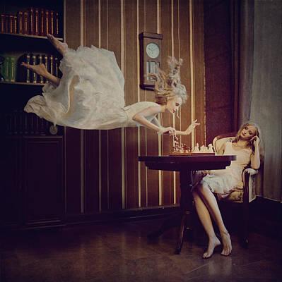 Levitation Photograph - Chess by Anka Zhuravleva