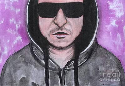 Linkin Park Drawing - Chester Bennington by Timon Timotius
