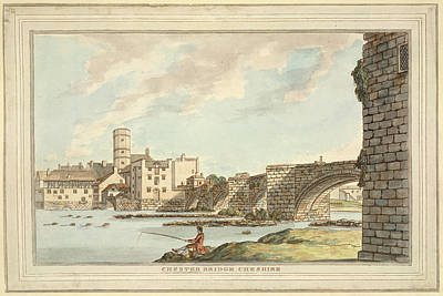 Chester Photograph - Chester Bridge by British Library