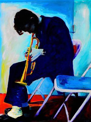 Vocals Painting - Chet Baker by Vel Verrept