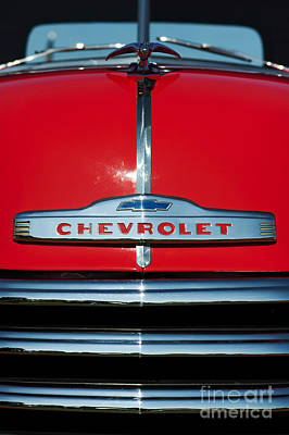 Truck Photograph - Chevrolet 3100 1953 Pickup by Tim Gainey