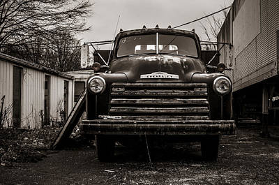 Photograph - Chevrolet Pickup  by Off The Beaten Path Photography - Andrew Alexander