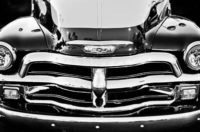 Chevrolet Pickup Truck Print by Jill Reger