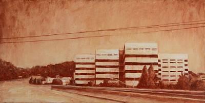 Chevron  Print by Jeff Levitch