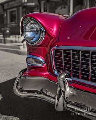 Chevy Bel Air Print by Edward Fielding