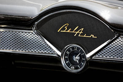 Chevy Bel Air Print by Susan Candelario