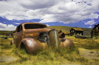 Photograph - Chevy Coupe 1937 by Jerome Obille