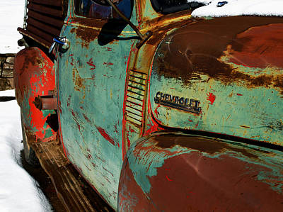 Chevy Print by Gia Marie Houck